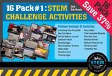 STEM Activity Challenge 16 Pack 3rd, 4th & 5th grades