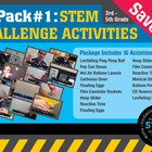 STEM Activity Challenge 16 Pack 3rd, 4th & 5th grades