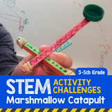 STEM Activity Challenge Marshmallow Catapult 3rd-5th grade