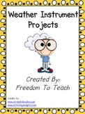 STEM! Build and Collect Your Own Data Weather Instrument Project.