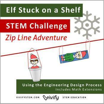 STEM Christmas Challenge: Elf Stuck on a Shelf!