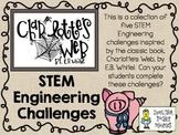 STEM Engineering Challenge Novel Pack ~ Charlotte's Web by