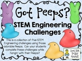 STEM Engineering Challenge Pack ~ Got Peeps? Challenges ~