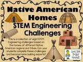 STEM Engineering Challenge Pack ~ Native American Homes Ch