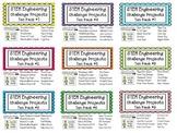 STEM Engineering Challenge Projects ~ TEN PACKS #1- #9