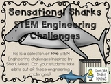 STEM Engineering Challenges Pack ~ Sensational Sharks ~ Se