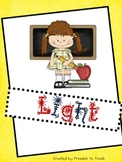 STEM: LIGHT Unit! Inquiry Based* Experiments*Projects*Voca