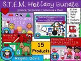 STEM Science, Technology, Engineering & Math Holiday BUNDLE