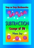 SUBTRACTION Concept of 10