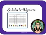 Spanish Sudoku!  Adjectives Review!