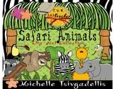 Safari Animals Clip Art Set