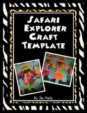 Safari Guide or Explorer Craft Template