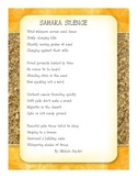 Sahara Silence Poem
