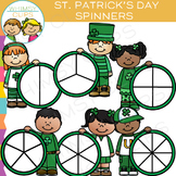 Saint Patrick's Day Spinners Clip Art