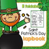 Saint Patrick's Day Lapbook { with 11 foldables! } St. Pat