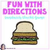 Sandwich Stacks: An Activity for Giving & Following Direct