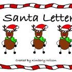 Santa Letter Writing Activity