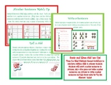 Santa and Elves Basic Addition Workshops