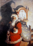 Santa in Art History PPT