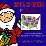 Santa is Coming to {My State}: A Unit for SLPs