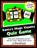 Santa's Christmas Belt Q-&-A Answer Viewers - a fun quiz format!