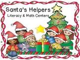 Santa's Helpers Literacy Centers Pack