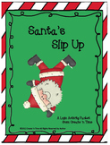 Santa's Slip Up on the Elf Awards: A Math Logic Activity Packet
