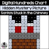 Santas Stuck in the Chimney Hundreds Chart Hidden Picture