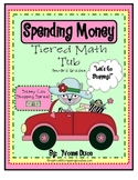 Sassy Cat Spending Spree Tiered Math Tub