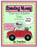 Sassy Cat Spending Spree Tiered Math Tub