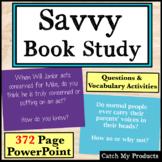 Savvy Literary Unit Power Point