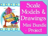 Common Core 7.RP 6.RP Scale Models & Drawings- Mini-Bundle