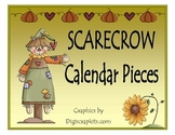 Scarecrow Calendar Pieces