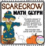 Scarecrow Math Glyph: Multiplication, Division & Algebraic