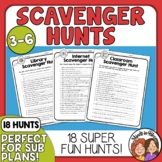 Scavenger Hunts: 18 for Dictionary, Library, Math, Nature,
