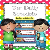 Schedule Cards (Cuties Kids) - 28 Programmable Cards