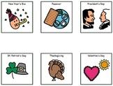 Scholastic Calendar - Adapted Boardmaker Pieces