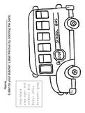 School Bus Labeling