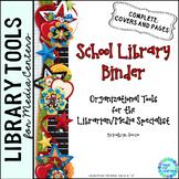 School Library Binder/Planner:  Scrappy Theme