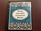 School Library Media Coordinator Evaluation Binder