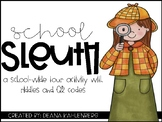 School Sleuth {A School-wide tour activity with riddles an