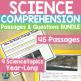 Science Bundle: Informational Text Passages {Growing Bundle}