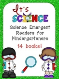 Science Emergent Readers Kindergarten- Seasons, Life Cycle