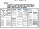 Science Fair Packet - Complete & Comprehensive