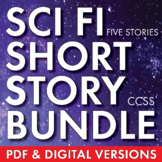 Science Fiction Unit 2 Weeks of Sci Fi Short Story & Movie