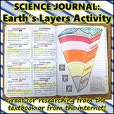 Science Journal: Earth's Layers