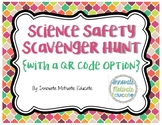 Science Safety Scavenger Hunt With a QR Code Option