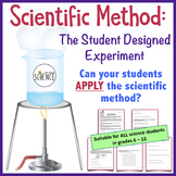 Scientific Method Lab: Student Designed Lab in Applying Sc