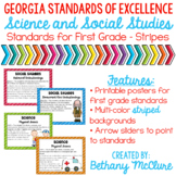 Science & Social Studies Standards for 1st Grade: GEORGIA