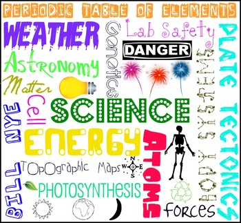 Science Subway Art